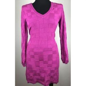 Michael Kors MK Sweater Shirt Dress Career Tight S